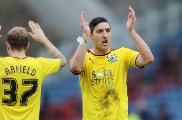 Huddersfield Town v Burnley - Sky Bet Championship - John Smith's Stadium