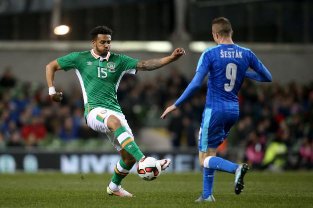 Republic of Ireland v Slovakia - International Friendly - Aviva Stadium