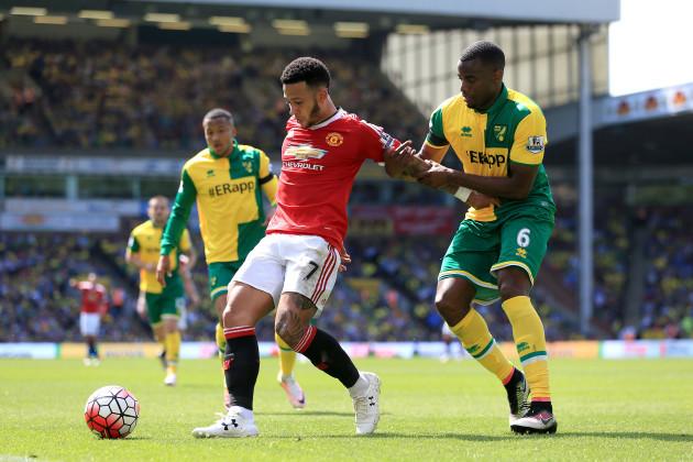 Norwich City v Manchester United - Barclays Premier League - Carrow Road