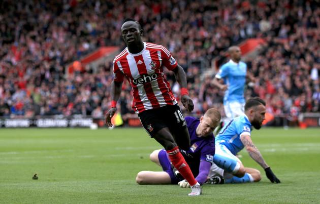 Southampton v Manchester City - Barclays Premier League - St Marys