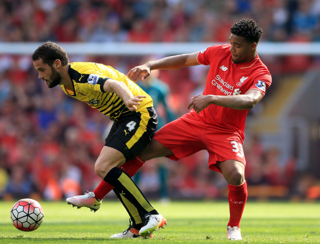 Liverpool v Watford - Barclays Premier League - Anfield