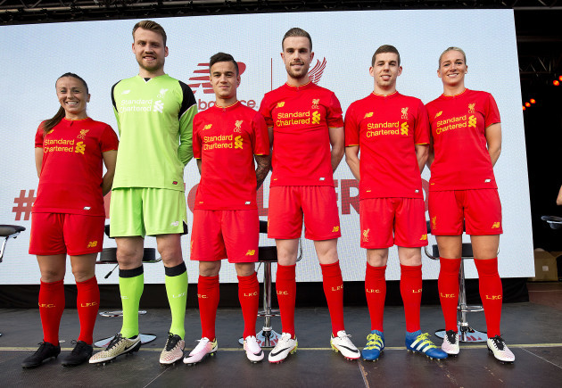 bfc770ec2 Liverpool s home kit for 2016 17 is apparently designed for  easy  identification at rapid speed