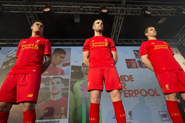 various colors 5be79 0c3c2 Liverpool's home kit for 2016/17 is apparently designed for ...