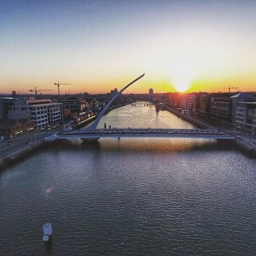 #samuelbeckettbridge #visitdublin @visitdublin #ireland #dublin #visitireland