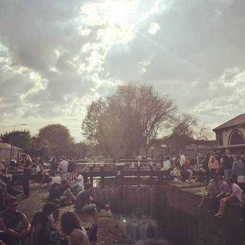 Sunday funday at the barge! #sundayfunday #thebarge #dublin #ireland #drinking