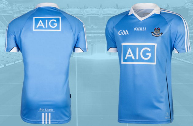 ce0b0954315 The new Dublin jersey is available to buy from tomorrow.