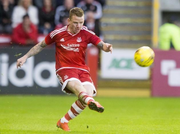 Soccer - Europa League First Qualifying Round - Second Leg - Aberdeen v Shkendija - Pittodrie Stadium