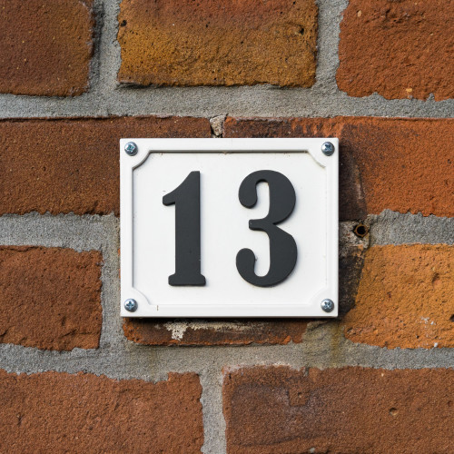 Houses with the number 13 sell for less in many parts of the ...
