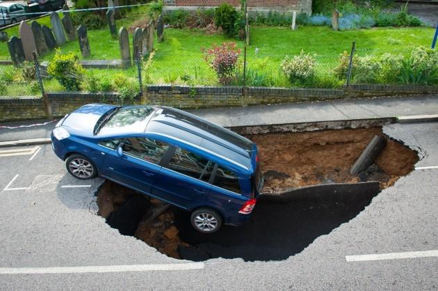 London sinkhole