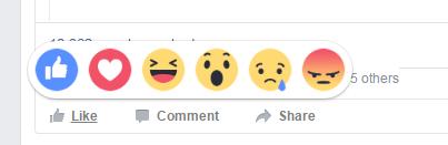 emotions facebook
