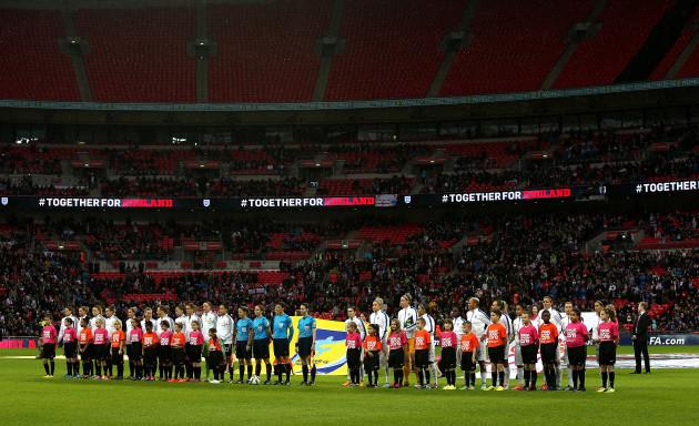 Soccer - Women's International Friendly - England v Germany - Wembley Stadium