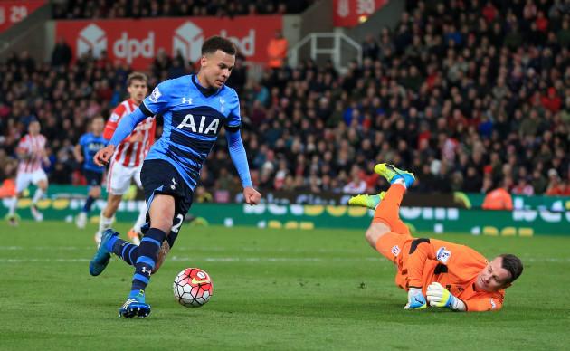 Stoke City v Tottenham Hotspur - Barclays Premier League - Britannia Stadium