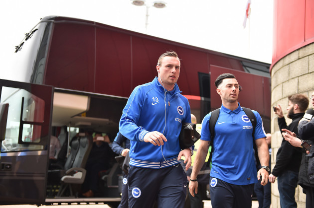 Middlesbrough v Brighton and Hove Albion - Sky Bet Championship - Riverside Stadium