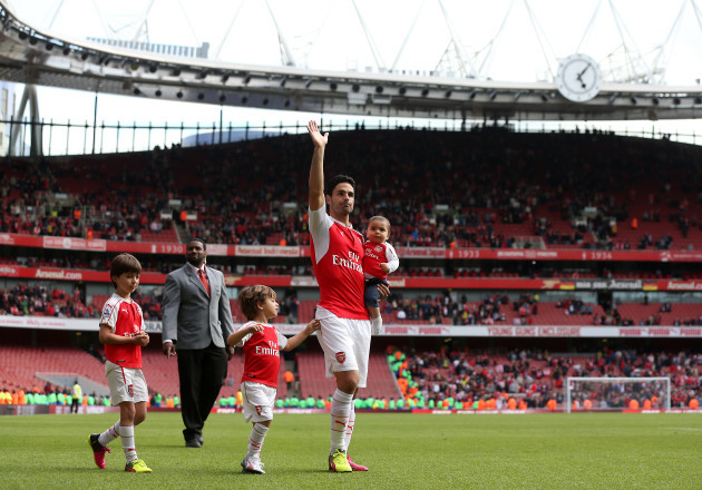 Arsenal v Aston Villa - Barclays Premier League - Emirates Stadium