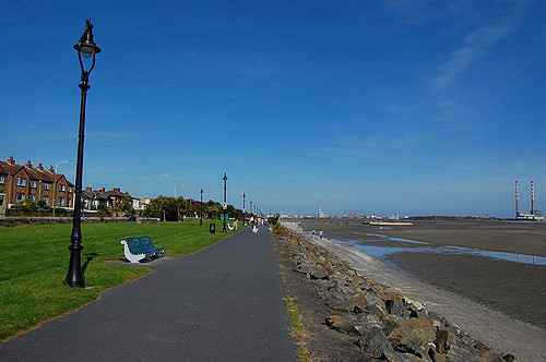 Sandymount beach