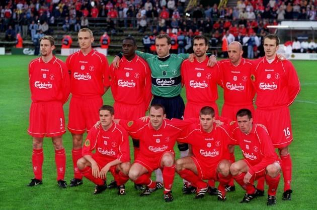 Soccer - UEFA Cup - Final - Liverpool v Alaves