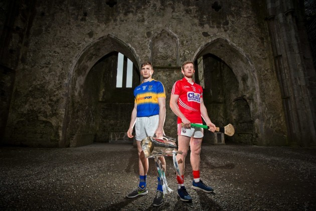 Tipperary's Brendan Maher with Bill Cooper of Cork