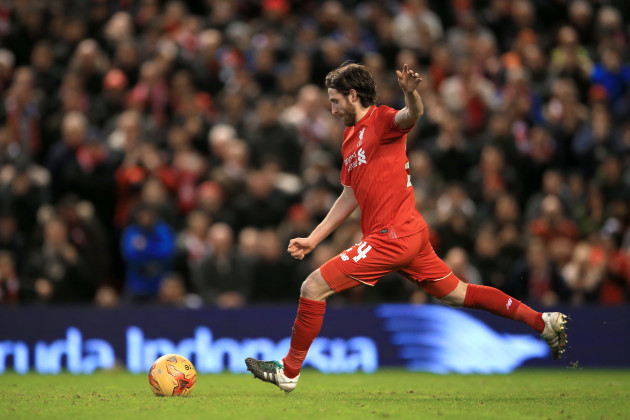 Liverpool v Stoke City - Capital One Cup - Semi Final - Second Leg - Anfield