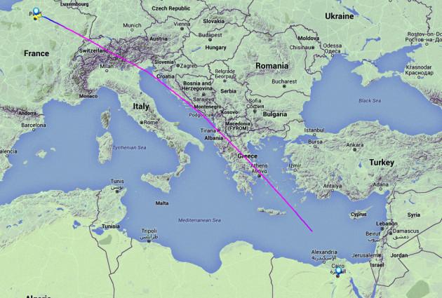 EgyptAir plane missing