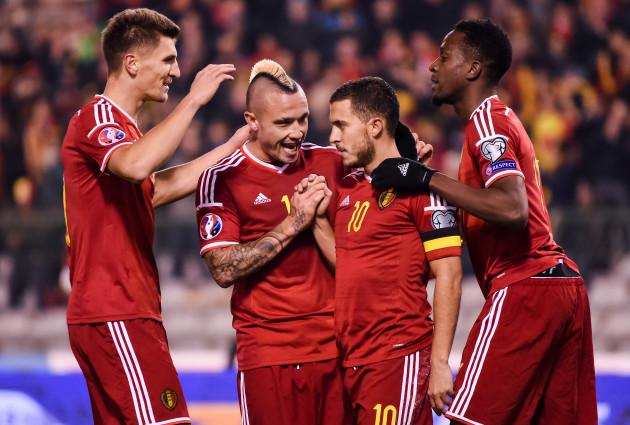 Belgium Israel Euro Soccer