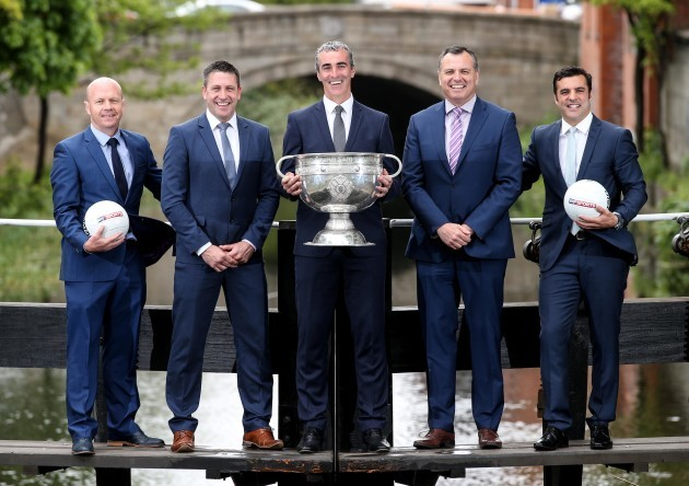 Peter Canavan, Senan O'Connell, Jim McGuinness, Paul Earley and Brian Carney