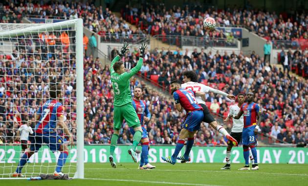Crystal Palace v Manchester United - Emirates FA Cup - Final - Wembley Stadium