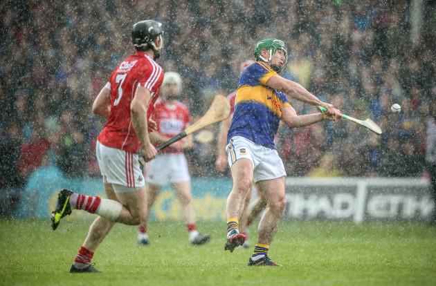 John O'Dwyer scores a point