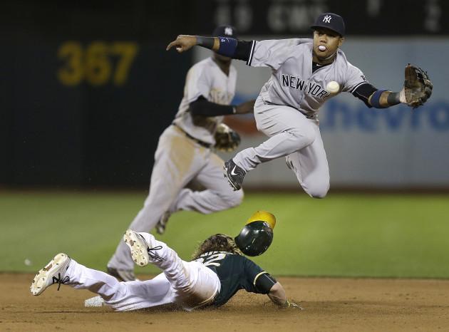 Yankees Athletics Baseball