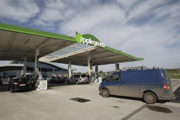Applegreen petrol station - stock