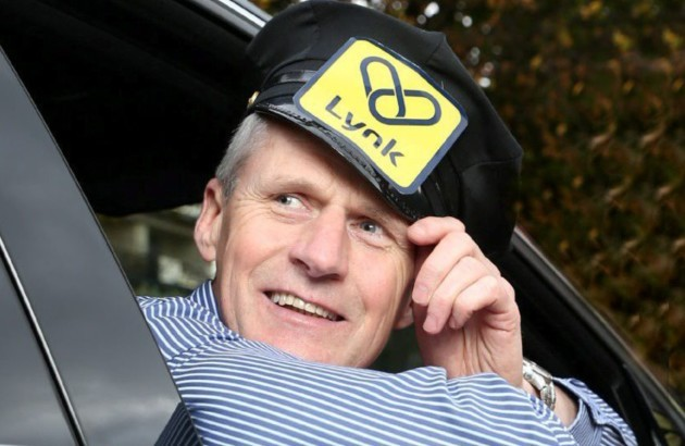 Lynk Taxi App...Repro Free. Thursday 30th October 2014.  Picture