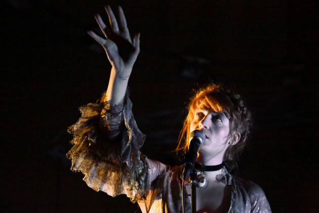 Florence and the Machine Warchild Benefit Gig - London