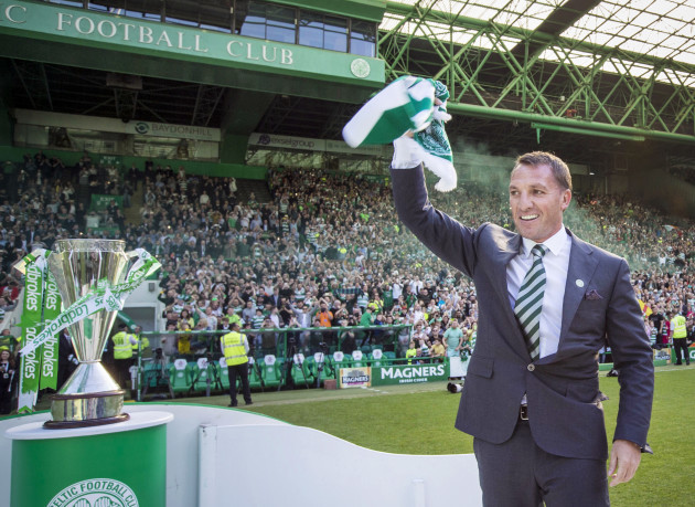 Brendan Rodgers Unveiling Press Conference - Celtic Park