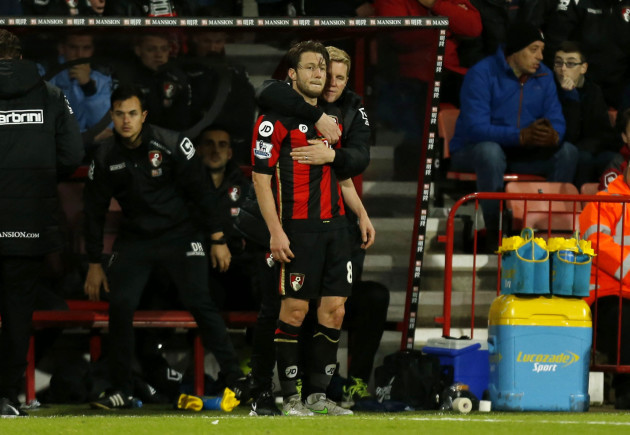 AFC Bournemouth v Manchester United - Barclays Premier League - Vitality Stadium