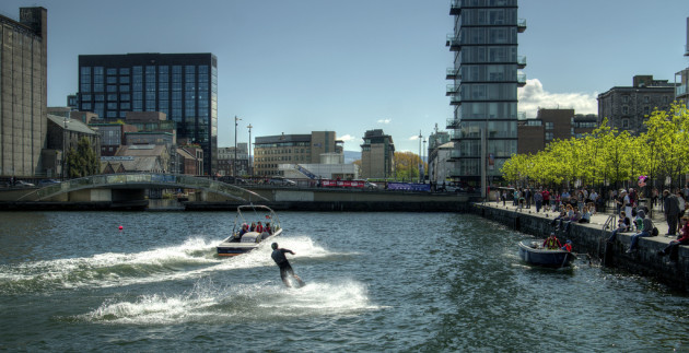 Wakeboarding, Grand Canal Dock