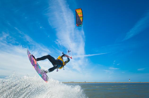 Battle for the Bay kite surfer