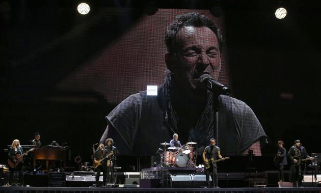 Spain Bruce Springsteen