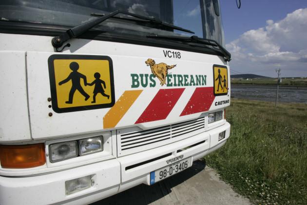 26/6/2009. Bus Eireann Buses