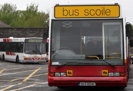 12/5/2013. Bus Eireann Strikes