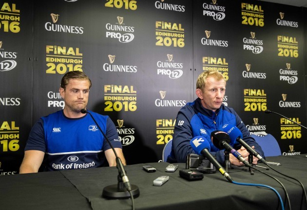 Jamie Heaslip and Leo Cullen
