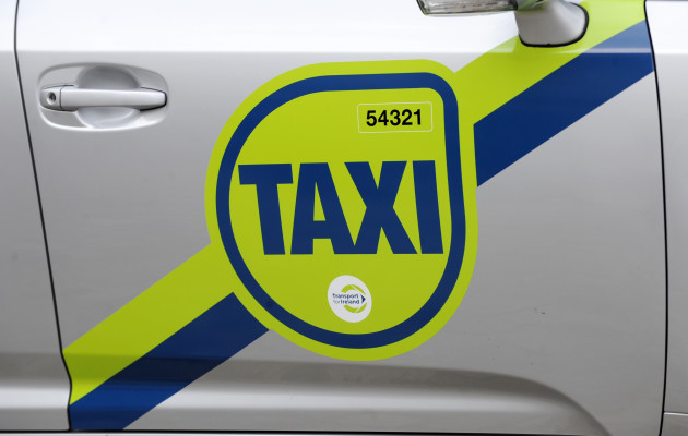 3/10/2012. New Taxi Signs