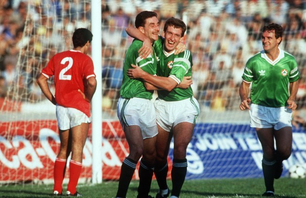 John Aldridge and Kevin Sheedy 15/11/1989