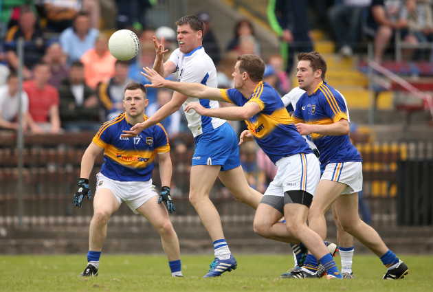 Patrick Hurney under pressure