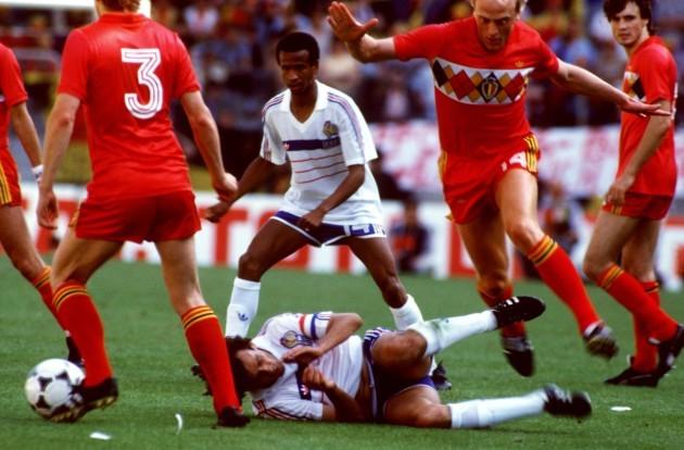 Soccer - European Championship - Group Two - France v Belgium