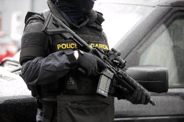 9/2/2016. Armed Gardai Checkpoints