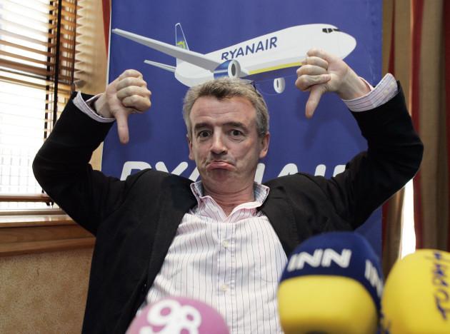 30/7/2009. Ryanair cut flights from Dublin
