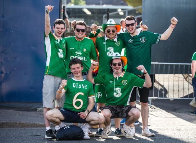Ireland supporters