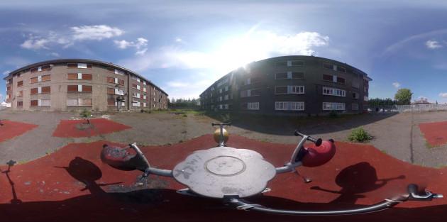 RTE Prime Time VR Report - Last Days of the Flats - O'Devaney Gardens 360
