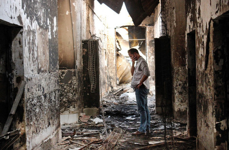 Mideast Hospitals Attacked