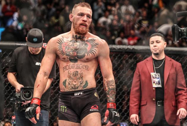 Conor McGregor dejected