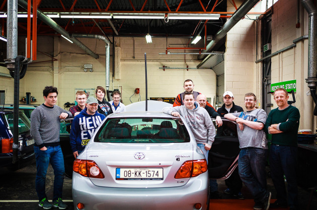 WIT self drive car 2016 team